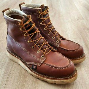 "Thorogood Mens American Heritage 6"" Brown Boots 11"
